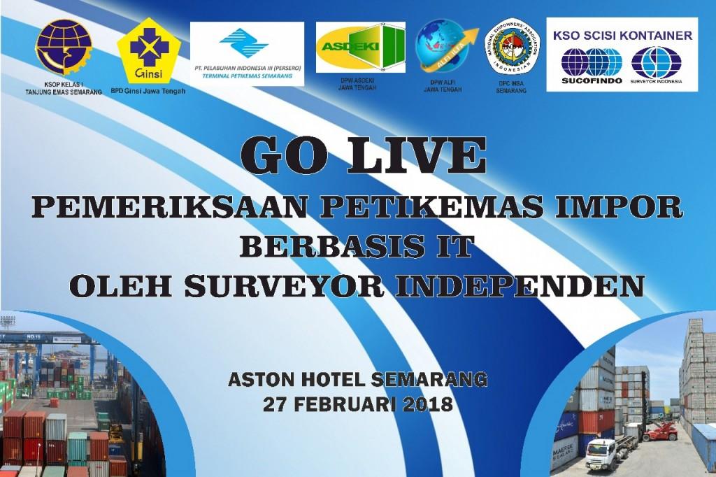 1 Maret, Pelabuhan Tanjung Emas Berlakukan Go Live Survey Kondisi Petikemas Impor Berbasis TI (SKPTI)