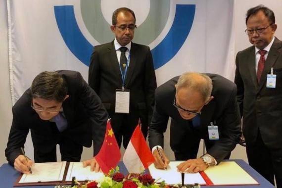 Tingkatkan Fasilitasi Ekspor dan Impor, Indonesia Teken MoU Pertukaran Data e-SKA dengan China